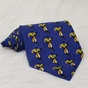 J. Crew Mens Necktie Football Sports Novelty Tie